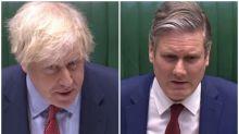 Boris Johnson tells Keir Starmer to stop 'negative tone' about coronavirus response