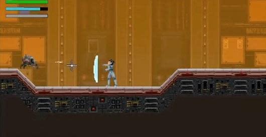 Metroid-style action game Blood Alloy jumps to Kickstarter