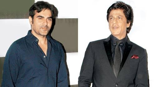 SRK and Arbaaz Khan were partying together