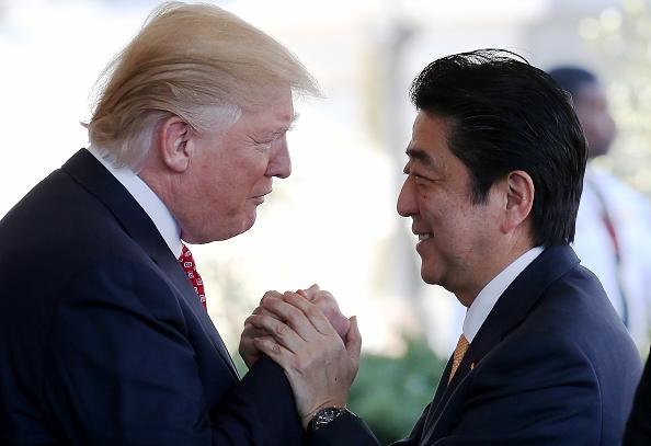 Trump, Abe Cite Agreement in Principle on U.S.-Japan Trade Deal