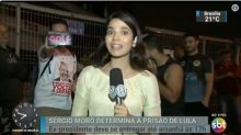 Manifestante interrompe link do 'SBT Brasil' e chama Silvio Santos de 'golpista'