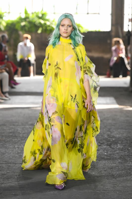 Valentino Spring/Summer 2021 women's and men's collection in Milan