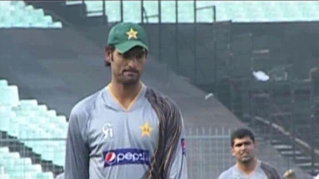 Pakistan in practice session