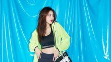 韓國女藝人泫雅拍代言品牌最新宣傳照