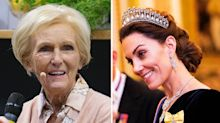 Royal fans in hysterics over Mary Berry's sexual innuendo towards Duchess of Cambridge