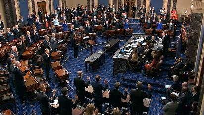 Senators may judge Trump based on incomplete story