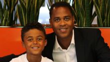 Patrick Kluivert's nine-year-old son signs Nike deal