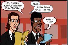 Readers pick best webcomic: Fictitious Pulp