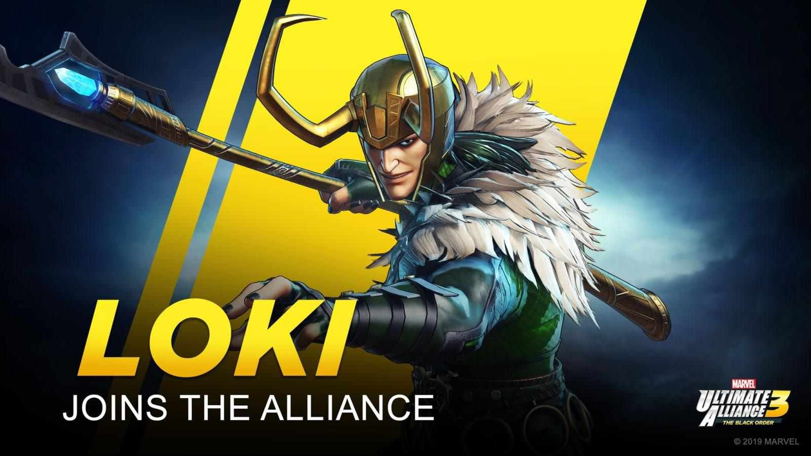 Loki Is Joining Marvel Ultimate Alliance 3 For Switch Engadget