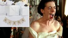Bride slammed as 'vulgar' over wedding gift request