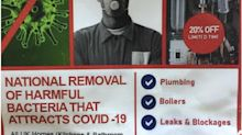 Warning Over Scam Leaflets Offering To Remove 'Bacteria That Attracts Covid-19'