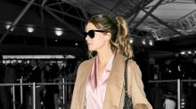 Kate Beckinsale Wore Fancy Silk Pajamas to Fly and We Love Her for It