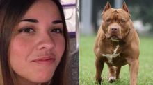 Mum, 33, mauled to death by her own pit bulls as she fed them