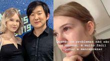 Esposa de Pyong chora após dar à luz: 'Nem tudo é perfeito'