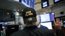 US stocks end at fresh records; European markets mixed