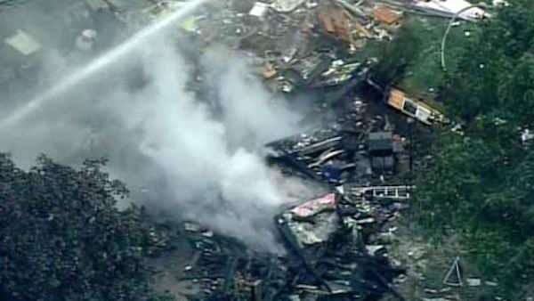 Body found after Hunterdon County house explosion