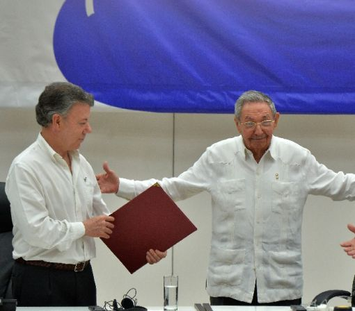 Santos and Timochenko: Colombia foes turn peacemakers