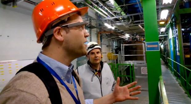 Physics teacher adopts Google Glass, gives students a glance at CERN (video)
