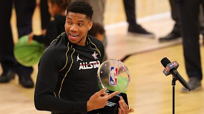Giannis has perfect All-Star Game, wins MVP