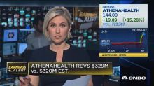 Athenahealth beats the Street