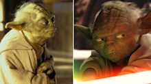 Ewan McGregor looks back at the 'not nearly as endearing' CGI Yoda of the 'Star Wars' prequels