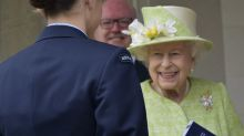 Queen makes first public outing of the year after COVID lockdown rules ease