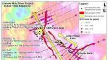 Benchmark Extends Dukes Ridge Resource Area from 500m to +700m and Provides Additional Bulk-Tonnage Drill Intercepts at the Lawyers Trend