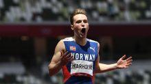 Karsten Warholm bests Rai Benjamin in race for the ages
