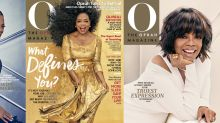 Oprah shows off 3 head-turning hairstyles for new O Magazine covers