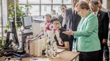 Merkel im chinesischen Zentrum der künstlichen Intelligenz
