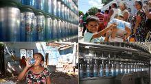 FOTOS: El día que las cervezas Tecate se cambiaron por agua para damnificados del sismo en México