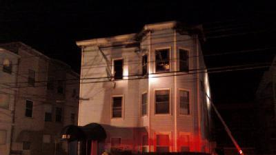 Fire Destroys Lewiston Apartment Building