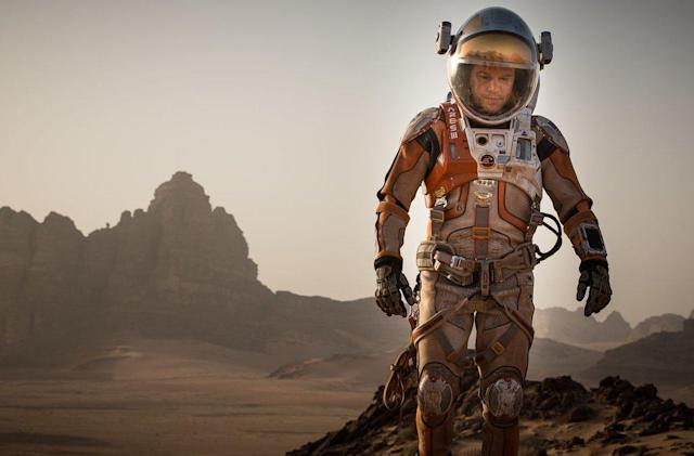 'The Martian' VFX reel shows how they put Matt Damon on Mars