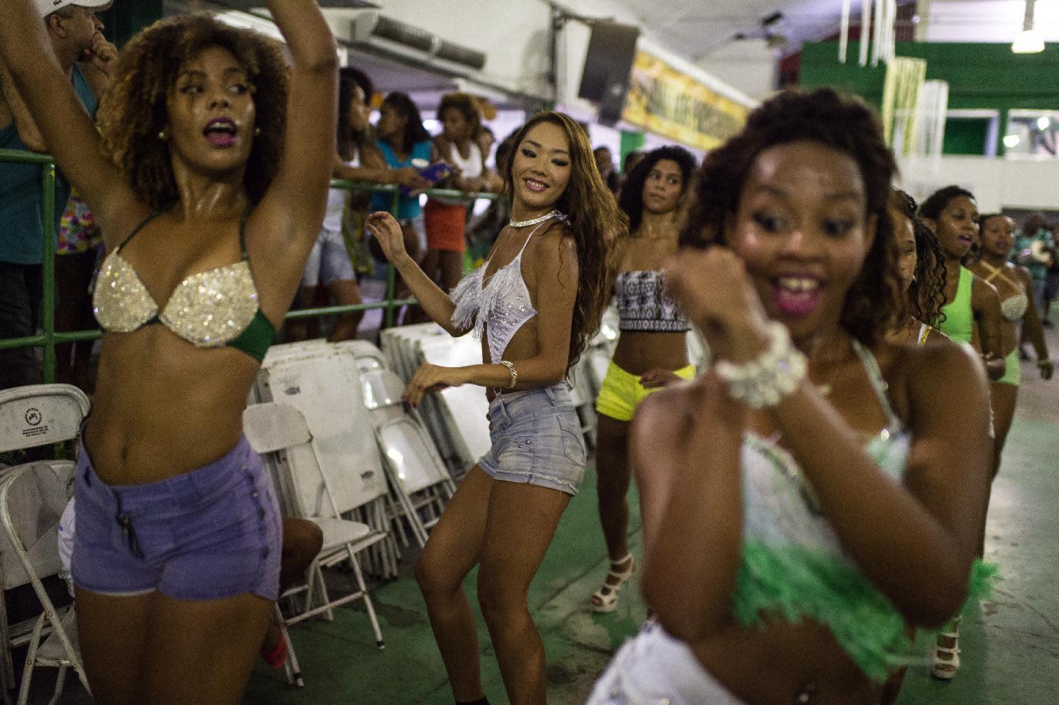 Japanese dancers find samba salvation in quake tragedy