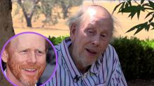 El padre del director Ron Howard ha fallecido a los 89 años