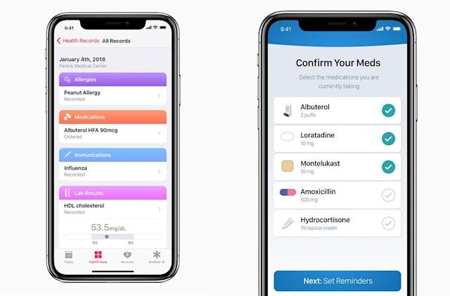 More iOS apps are on the way to help with your health regimen