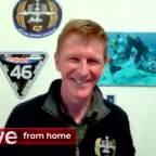 Tim Peake compares coronavirus lockdown to being in space as he appears on The One Show