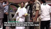 Mamata Banerjee meets Amit Shah in Delhi, says genuine citizens left out of Assam NRC