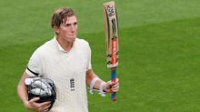 Zak Crawley's mammoth century puts England in early control of third Test