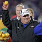 Mark Mangino will make his return to Kansas as Orange Bowl team honored