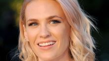 The Surprising Secrets of January Jones' Beauty Routine, From 25-Minute Baths to a $795 Face Cream