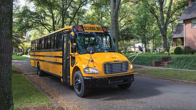 Daimler is bringing electric school buses to Virginia