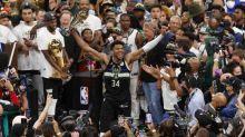 Basket - NBA - GiannisAntetokounmpo (Milwaukee), après le titre NBA: «J'aurais pu rejoindre une super team»
