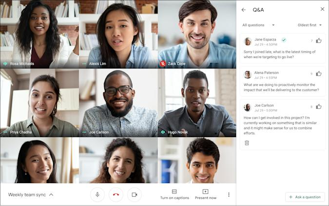 Google Meet's updated Hand Raise makes it easier for admins to spot you