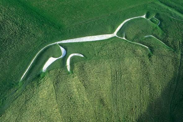 "<p>Hike across rolling chalk downs and back in time to an age of myth and legend on a trek to the <a href=""http://www.nationaltrust.org.uk/white-horse-hill/"" target=""_blank"">Uffington White Horse</a> in Oxfordshire. The area all around Uffington is dotted with an Iron Age hillfort, ancient burial mounds, Roman roads and apparently the hilltop where St George slew the dragon. The most famous landmark is the 3,000-year-old Uffington White Horse, which leaps across the head of a valley. <strong>Best for: A memorable hike to an ancient site.</strong></p>"