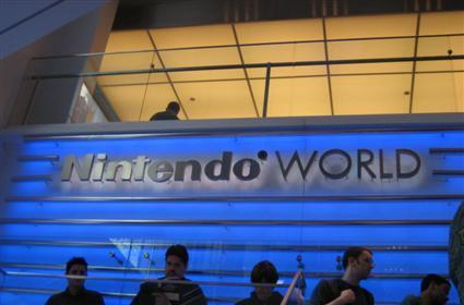 Joystiq at Nintendo World Store: in video