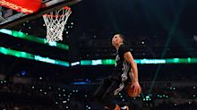 Mad Dash: Zach LaVine throws down at summer dunk contest