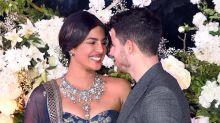 Priyanka Chopra decks up in diamonds and Sabyasachi for her second reception