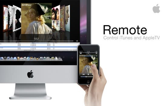 Apple's Remote: turns your iPhone into a WiFi remote control