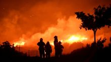 Californians fear more wildfires as winds pick up